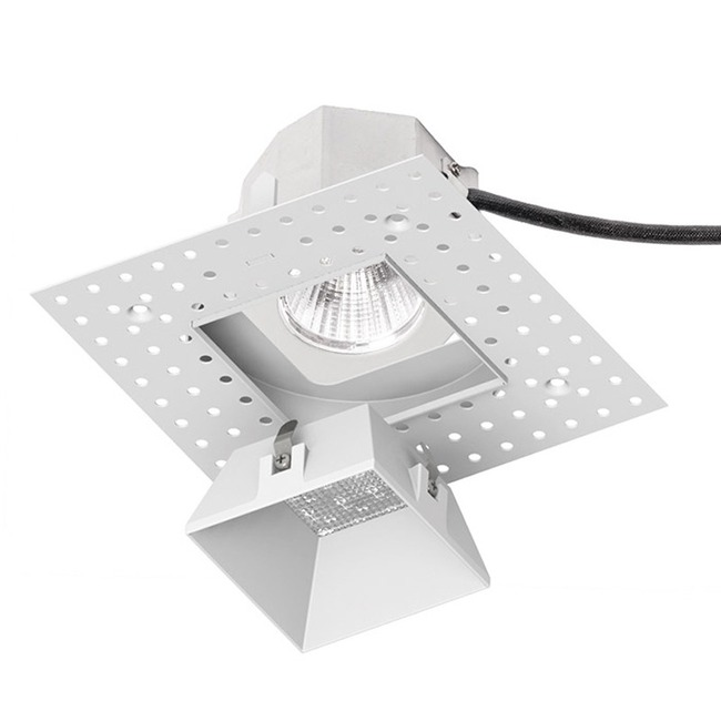 Aether 3.5IN Square 90CRI Downlight Invisible Trim  by WAC Lighting