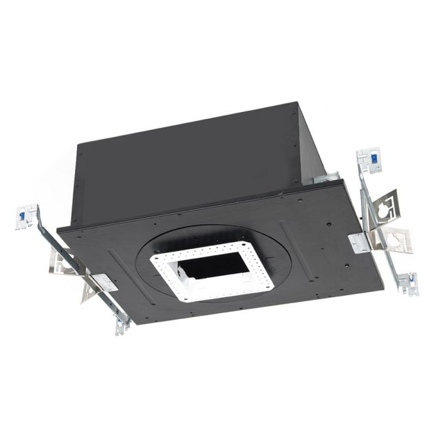 Volta 4.5IN SQ Trimless IC AirTight New Construction Housing  by WAC Lighting