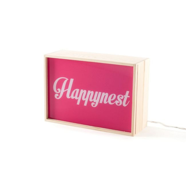 Lighthink Light My Fire/I Have a Dream/ Happynest Box  by Seletti