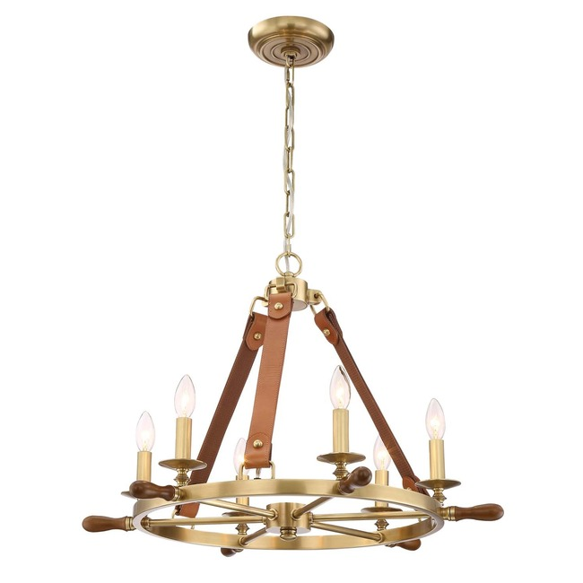 Carlisle Chandelier  by Zeev Lighting