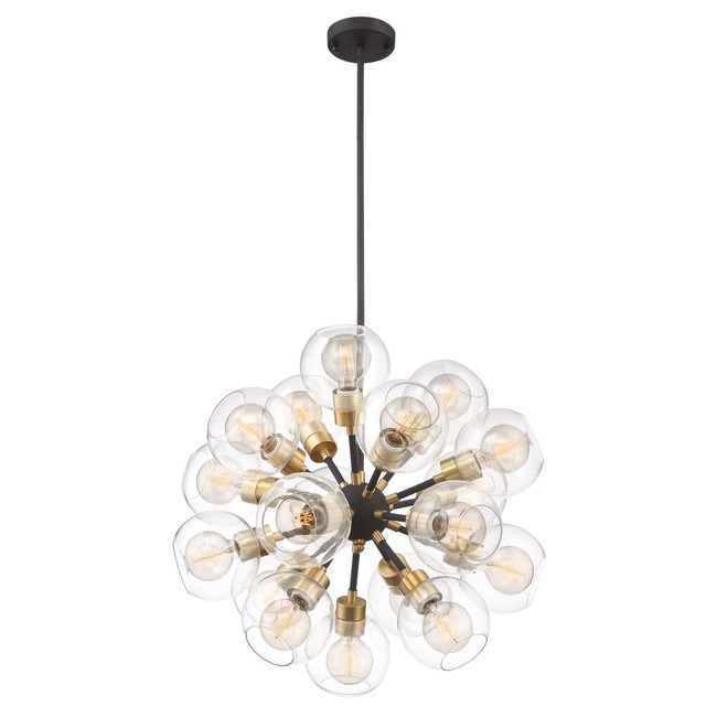 Pierre Round Chandelier  by Zeev Lighting