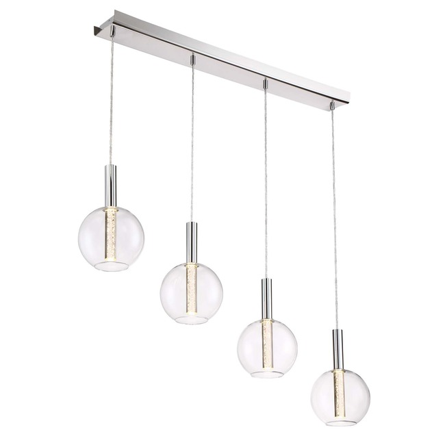 Empire Linear Multi Light Pendant  by Zeev Lighting