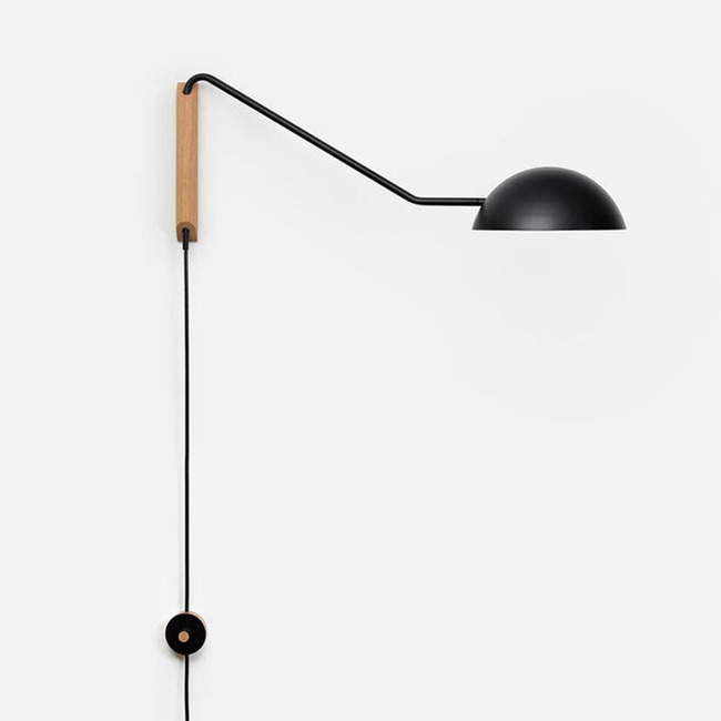 Swing Dome Wall Light  by Andrew Neyer