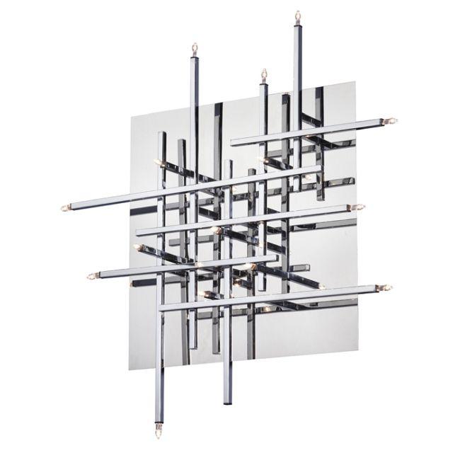 Mondrian Wall / Ceiling Light Fixture by Dainolite | CG8616FH-PC