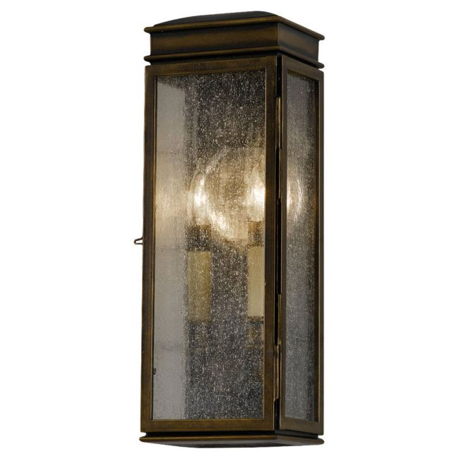 Whitaker Outdoor Wall Sconce by Feiss | OL7400ASTB