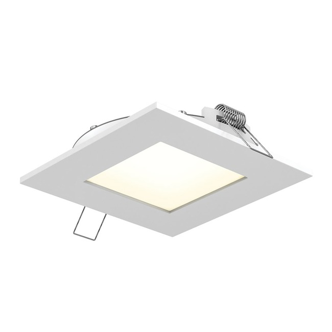 Pro Series 4 Inch Square Recessed Panel Light  by DALS Lighting