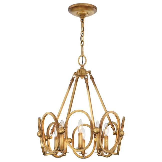 Clairpointe Pendant   by Metropolitan Lighting