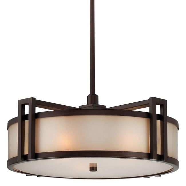 Underscore Round Pendant  by Metropolitan Lighting
