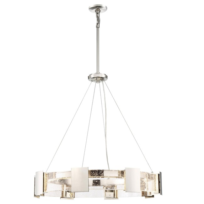 Stellaris Chandelier  by Metropolitan Lighting