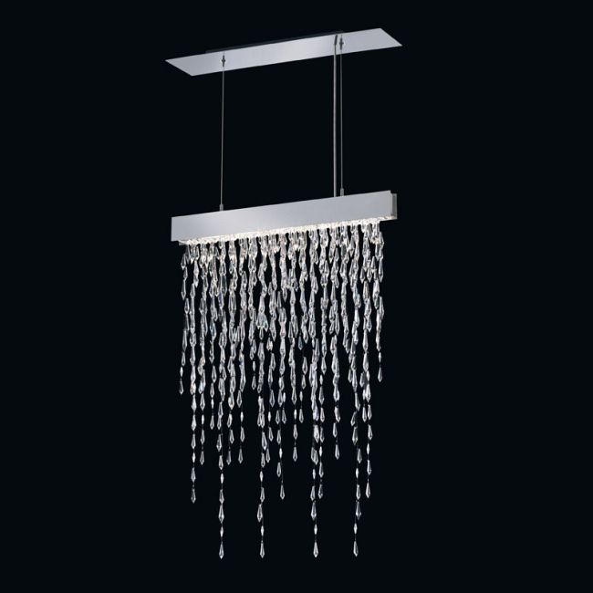 Crystalline Icicles Linear Suspension by Swarovski | SCR115-SS1