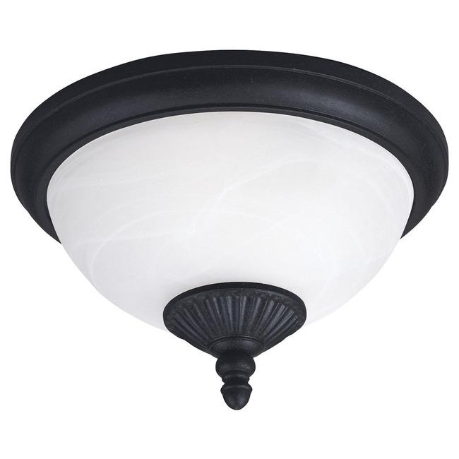 Yorktown Outdoor LED Ceiling Flush Light  by Sea Gull Lighting