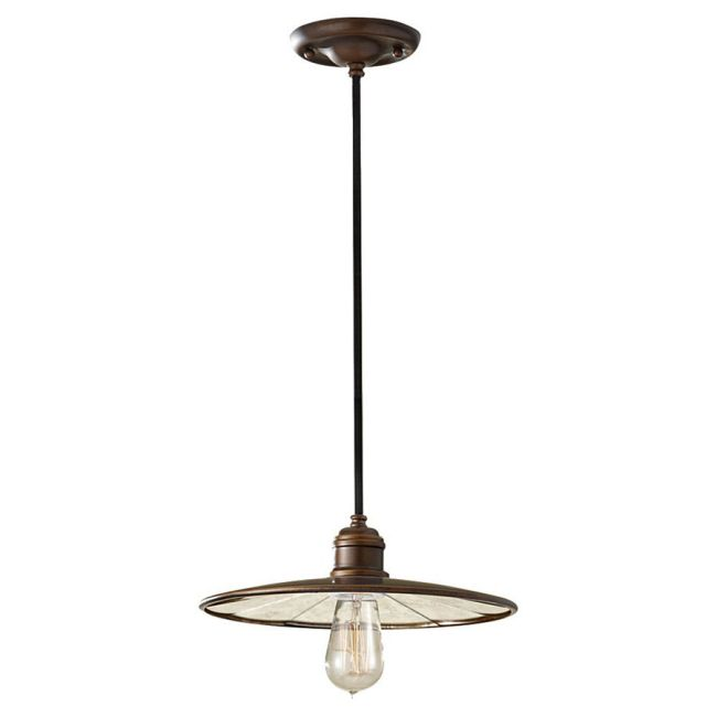 Urban Renewal 1236 Disc Pendant by Feiss | P1236ASTB