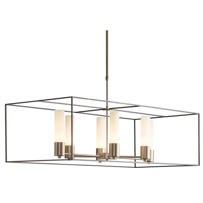 Portico Rectangle Chandelier  by Hubbardton Forge