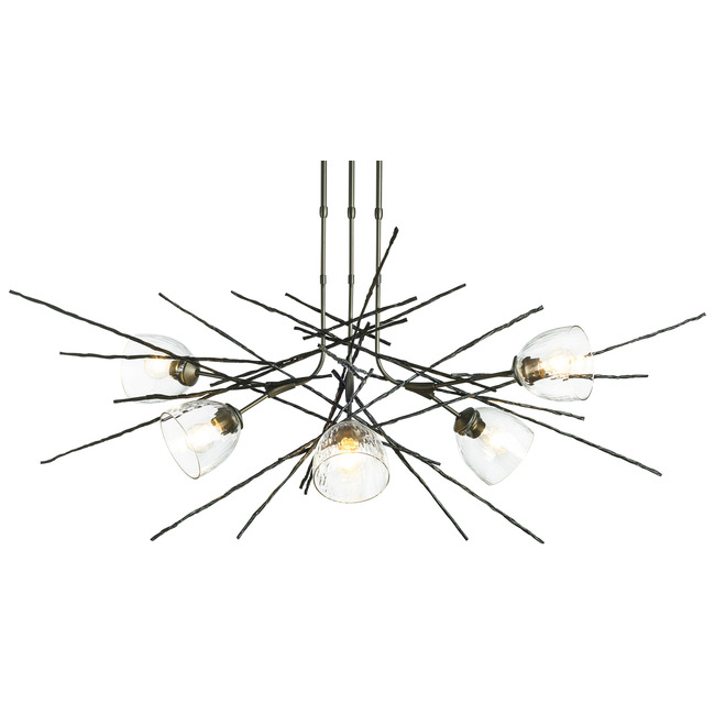 Griffin Linear Chandelier  by Hubbardton Forge