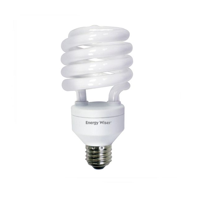 T3 Coil Medium Base CFL 32W 120V 2700K 82CRI  by Bulbrite