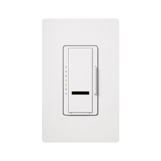 Maestro IR Digital Fade 600W Incandescent Dimmer by Lutron | MIR-600-WH