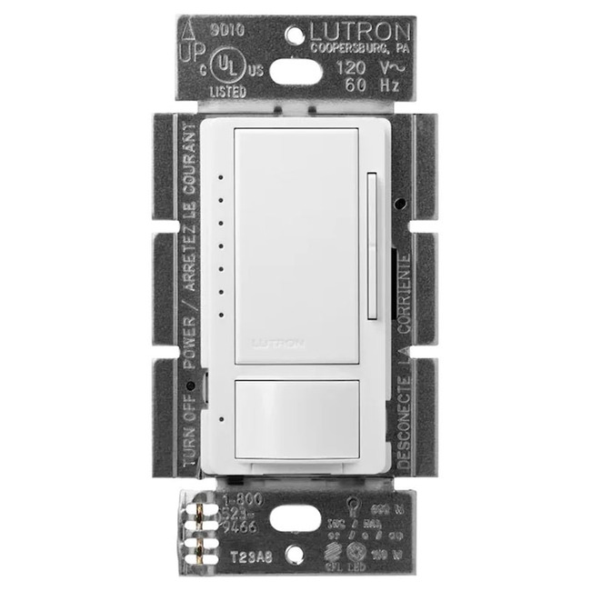 Maestro Occupancy Sensor with Dimmer by Lutron | MSCL-OP153M-WH