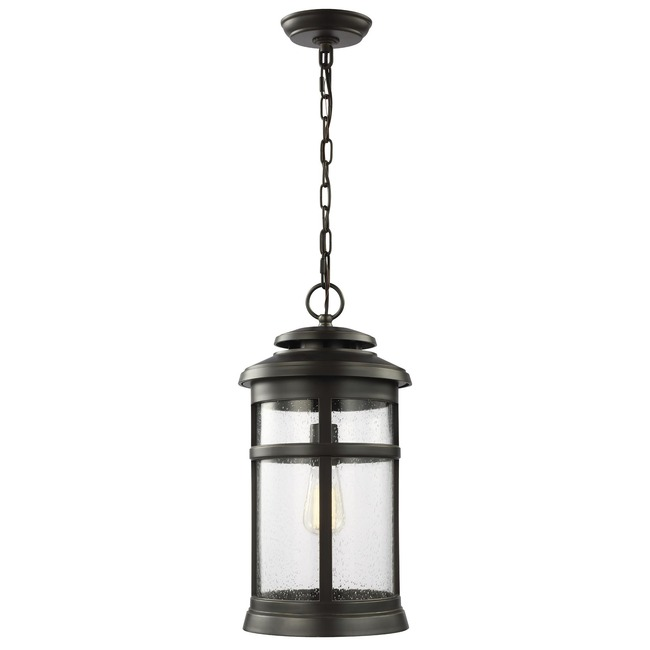 Newport Bronze Outdoor Pendant  by Feiss
