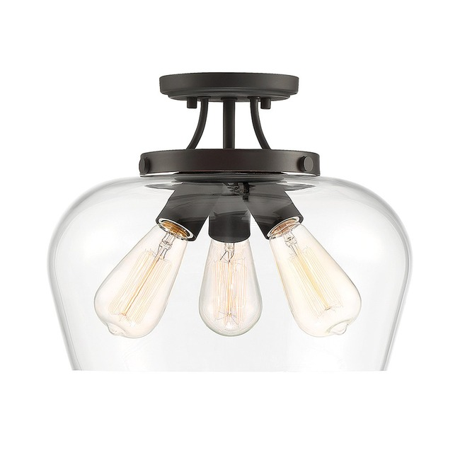 Octave Ceiling Semi Flush Light  by Savoy House