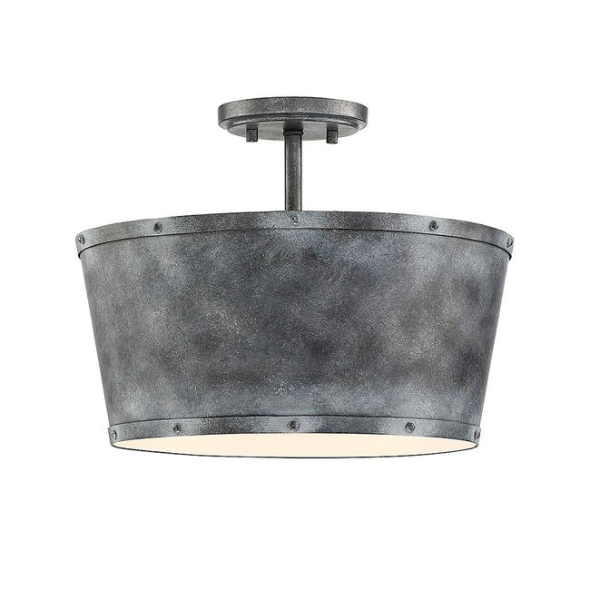Dover Ceiling Semi Flush Light  by Savoy House