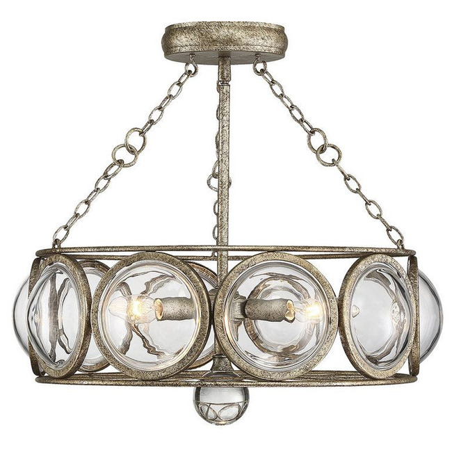 Warwick Ceiling Semi Flush Light/Pendant  by Savoy House