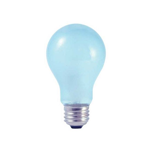 True Daylight A19 Medium Base 53W 120V Frost 2-Pack  by Bulbrite