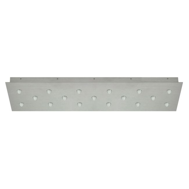 Fast Jack LED Linear 17 Port Canopy by PureEdge Lighting | FJP-33RE-LED-17-20W-SN