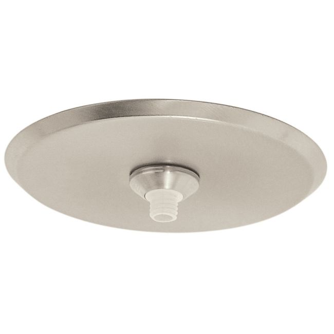 FJ 4 Inch Round Canopy Without Transformer by PureEdge Lighting | FJC-4RD-SN