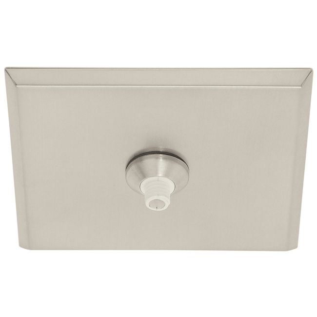 FJ 4 Inch Square Canopy Without Transformer by PureEdge Lighting | FJC-4SQ-SN