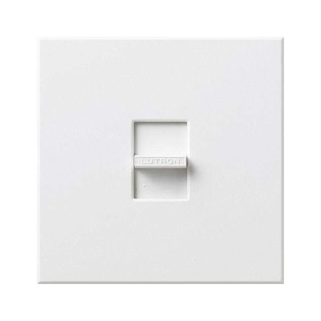 Nova 1500W Incandescent Single Pole Dimmer by Lutron | n-1500-wh