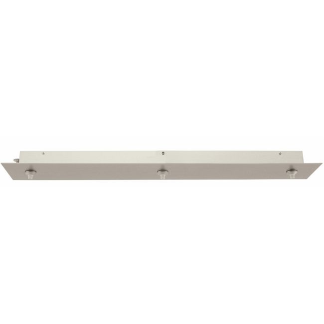 FJ 26 Inch Rectangle 3 Port Canopy Without Transformer  by PureEdge Lighting | FJC-26RE-3-SN