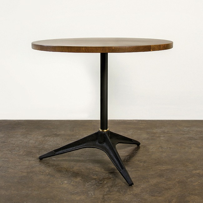Compass Round Bistro Table  by Nuevo