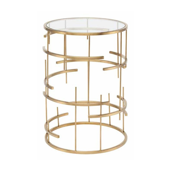 Tiffany Side Table  by Nuevo