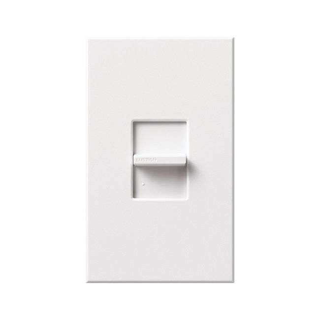 Nova T Linear Slide 3-Way Switch by Lutron | NT-3PS-WH
