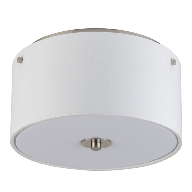 Modern Flushmount by Lights Up | 010BN-WHT