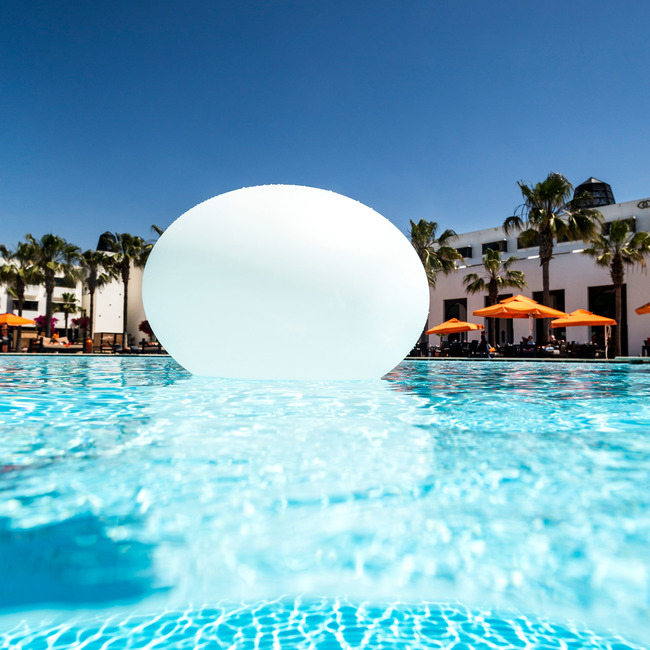 Flatball Portable Bluetooth LED Floating Pool Light  by Smart & Green