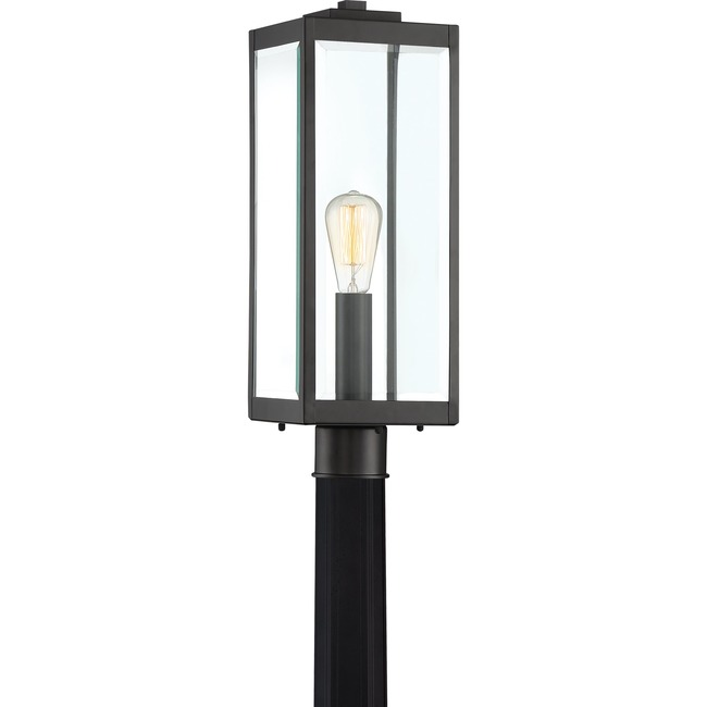Westover Outdoor Post Light  by Quoizel