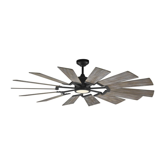 Prairie Indoor / Outdoor Ceiling Fan with Light  by Monte Carlo