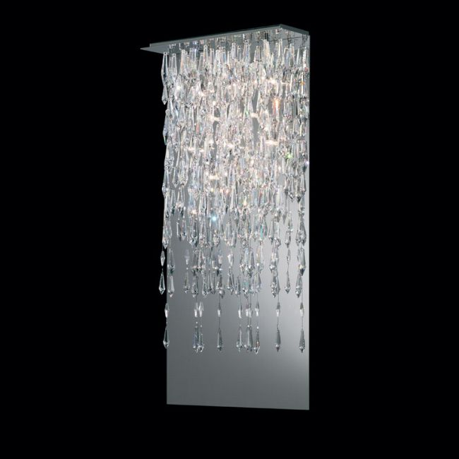 Crystalline Icicles Wall Sconce by Swarovski | SCR615-SS1