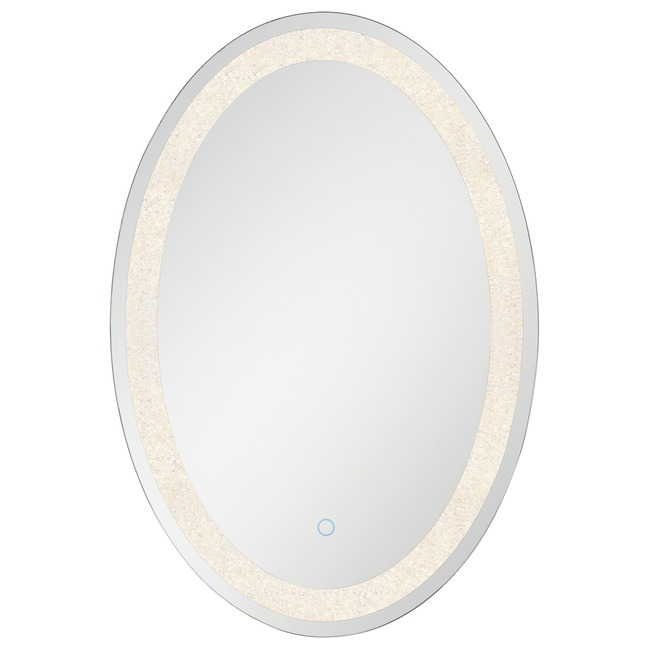 Oval Back-lit LED Mirror  by Eurofase