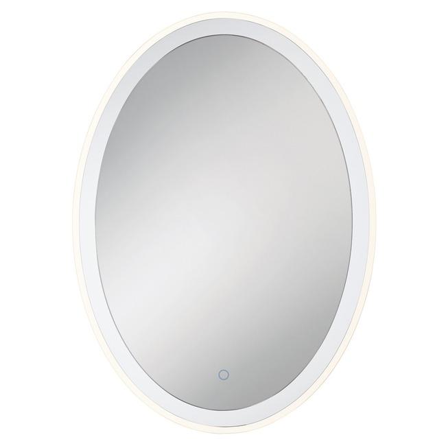 Oval Edge-Lit Mirror  by Eurofase