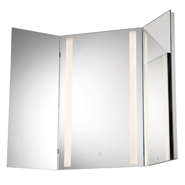 Tri-Fold LED Mirror  by Eurofase