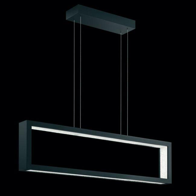 Revealed LED Linear Suspension by Swarovski | SRE181-BK2