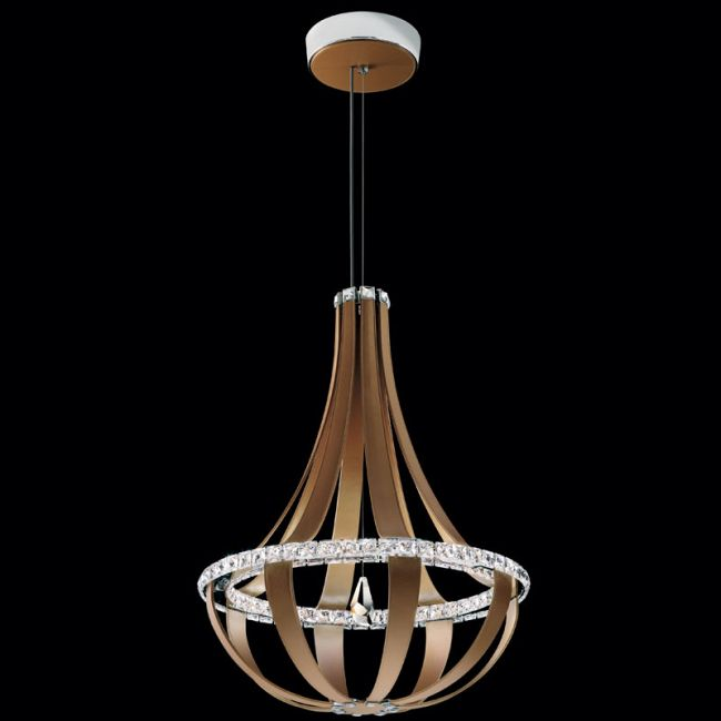 Crystal Empire 27 Inch LED Chandelier by Swarovski | SCE121-LC1
