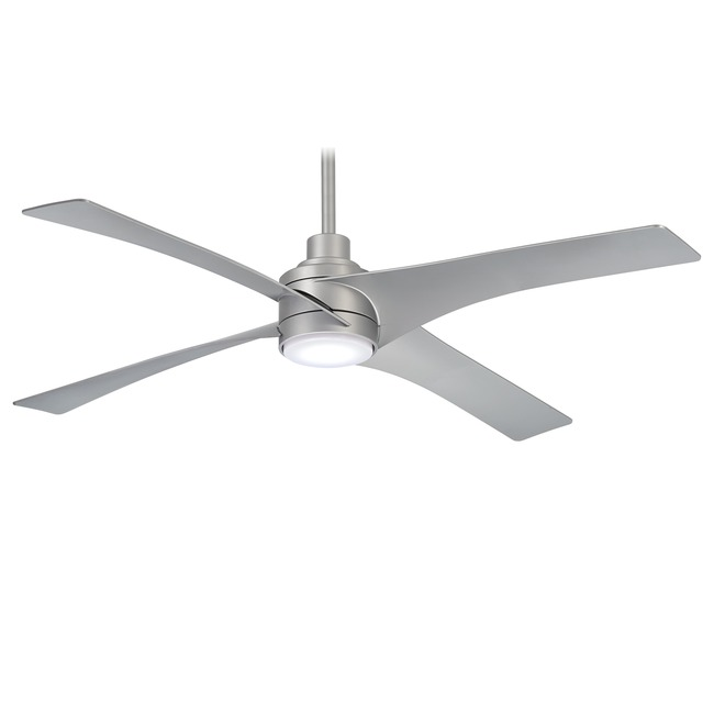 Swept Ceiling Fan with Light  by Minka Aire