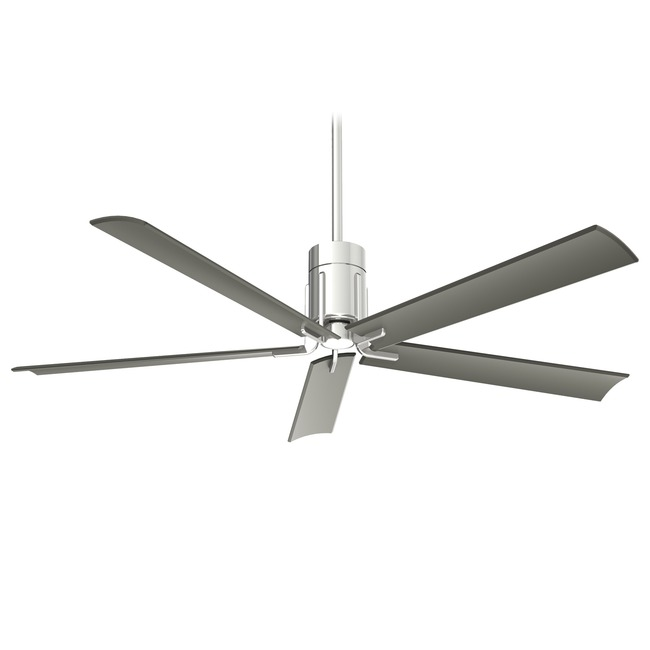 Clean Ceiling Fan with Light  by Minka Aire