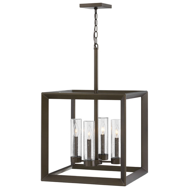 Rhodes 120V Outdoor Square Pendant  by Hinkley Lighting