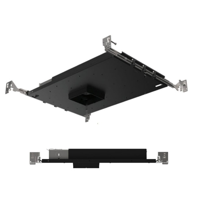 3IN SQ Flanged Downlight Ultra Shallow Housing  by Element by Tech Lighting