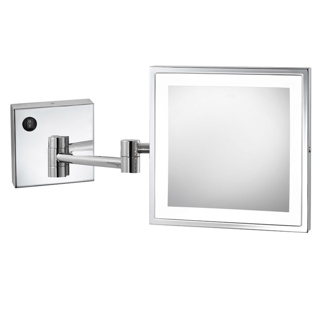 Elixir Wall Mounted Makeup Mirror  by Electric Mirror