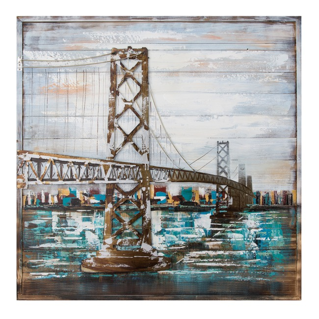 Bay Bridge Wall Art  by Varaluz